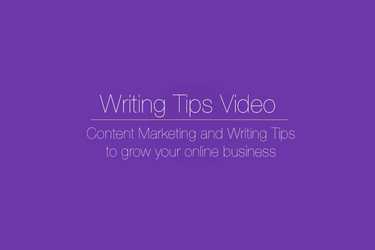This Writing Tip Could Put You Out of Business when Writing Online [Writing Tips Video]