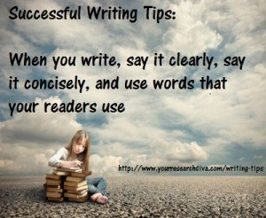 Writing Tips: Communication can be Easy...write clearly