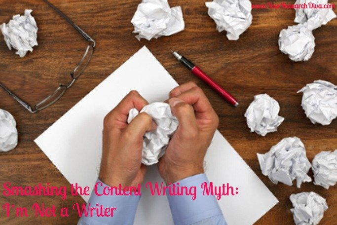 Smashing the Content Writing Myth: I'm Not a Writer
