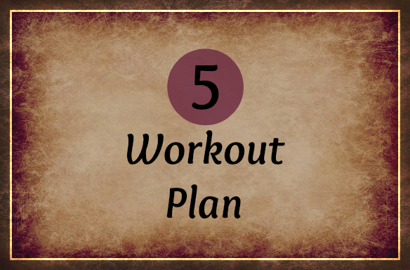 5-workout plan- online business tips